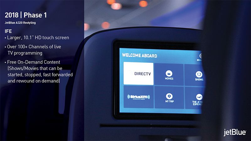 JetBlue | A320 Cabin Restyling